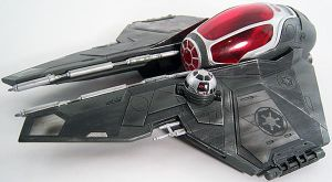 Vader's Sith Starfighter scale model by firebladecomics