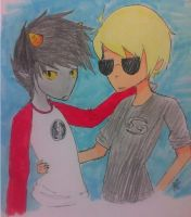Davekat: switch clothes by TiMeLoRd903