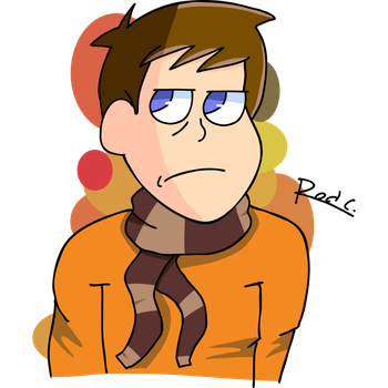 Animation is his passion (fan art) by RoderickDoesArt16