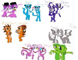 Littlest pet shop Genderbend by KikotheKutie