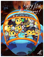 Ratchet and Clank 10th Anniversary~ by chicinlicin