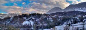 Winter panorama II by TwistedSmile88