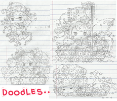 Doodles of Boredom by Milchiah