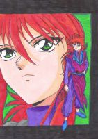 Kurama-Hey Double is Good by aikou-yami