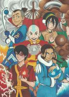 Avatar: The Last Airbender by HogwartsWizard