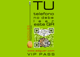 Your smartphone should not read this QR code by adguer