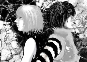 Mello and Matt by Gehen
