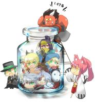 Blazblue In a Jar by Chaoplayer108