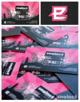 New Engine4 Business Cards by talesnine