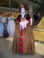 Megacon '10- The Red Queen by Fruits-Punch-Samurai