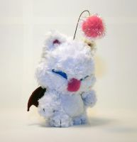 Mog the Moogle Fuzzy Munny by mesmithy
