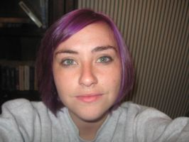 I have purple hair WTF by Tofu00