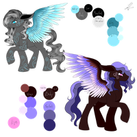 MLP NightmareDerpy Point Adopts ( 0/2 CLOSED) by NightmareDerpy