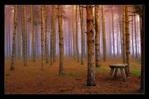 Lonly Table by Hassan9
