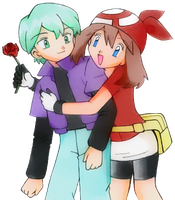 May and Drew - [Pokemon] by SidselC