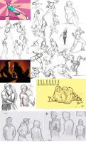 Sketch Dump July 2015 by SolKorra