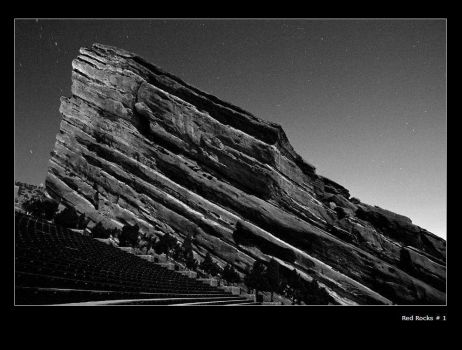 Red Rocks 1 by turnstylepoet