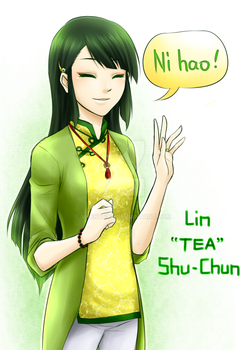 Lin Shu-Chun the Tea Princess by Vhenyfire