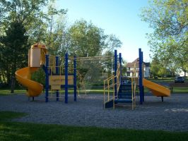 the playground at Vitale Park by SepticWings