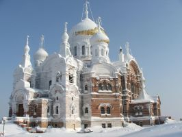 Belogorsk Monastery, Russia. by craciun