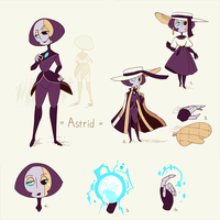 Astrid Character Reference 4 by chicinlicin