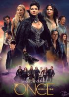 Once Upon A Time S3 Poster by JaiMcFerran