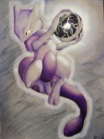 Another Mewtwo- by Sastrei by PokemonSweethearts
