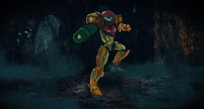 Dail Paint 6th June 2017 Samus Facebook by friendbeard
