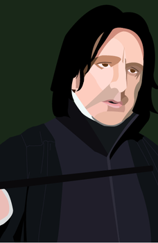Snape by Hlendr-Ginith