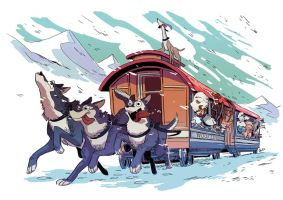 Woof Express by edwardgan