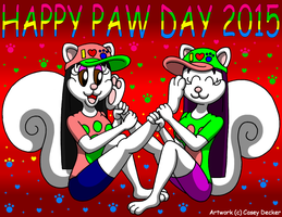 Happy Paw Day 2015 by CaseyDecker