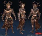 ArenaNet Intership 2014 wires by Alemja