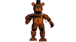 Withered Freddy Full Body by Spring-o-bonnie