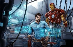 Iron man by VinRoc