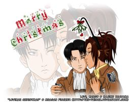 LeviHan Christmas by The-Phisch