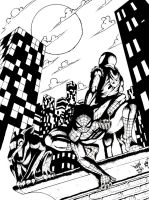 pjb47's Spider-men ink by ayelid