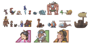 Unnamed game sprites 4 awhile2 by Pokekoks