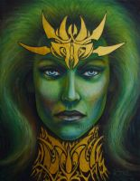 Queen of Atlantis by KainTheVampireLord