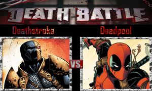 Deathstroke vs Deadpool by SonicPal