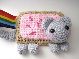Nyan Cat Wristlet by MoonYen