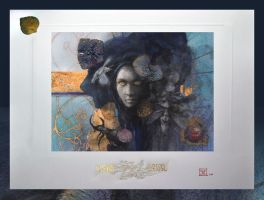 Apsara - Fine Art Prints by Yoann-Lossel