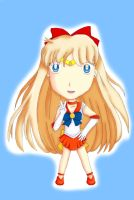 Chibi Sailor Venus by IceDragonCosplay