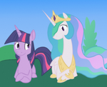 Chillin' with the Princess by Enma-Darei