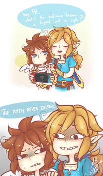 the Legend and the Myth by Stella-TheFox