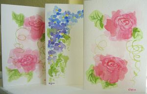 Flowercards 1 by Eligius-san