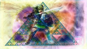 Link Abstract - DeviatART edit by Omegaserge101