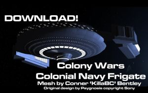 Colonial Frigate by KillaBC