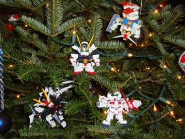 Gundam in a Tree by Jazz935