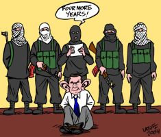 Four more years of WAR by Latuff2