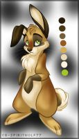 New Kanin Color Sheet by spiritwolf77